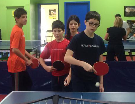 Table Tennis Serves into 2015
