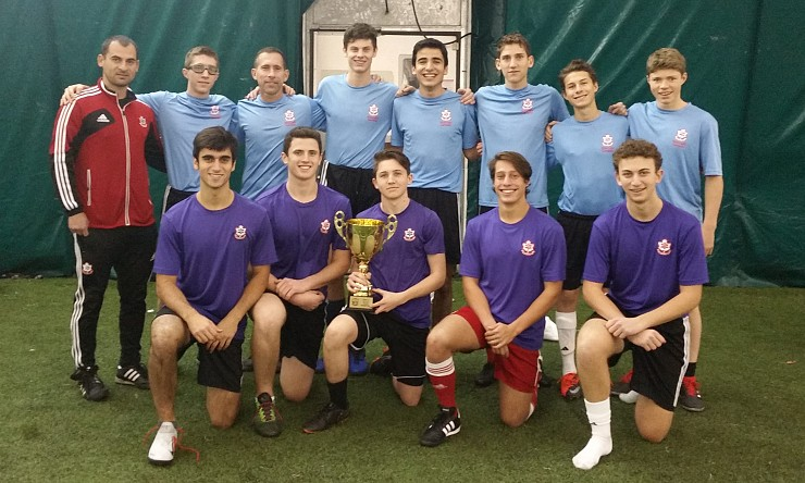 Maccabi U17 Team captures CAF Mens Soccer Title